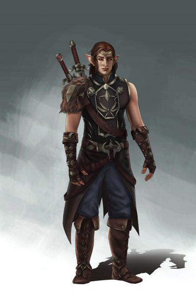 orc archer male